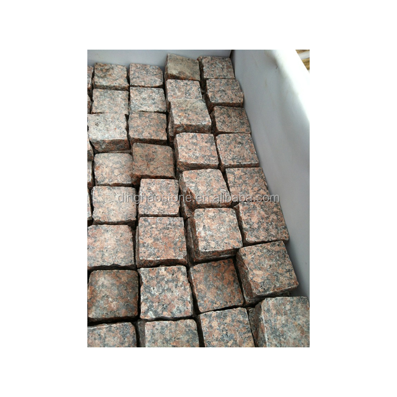 Chinese Stone Suppliers Maple Red Granite dimension stone