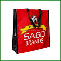 Full color printing fancyshoppin bag, large size bag customized