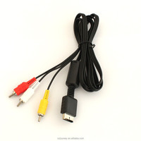 For Sony Playstation 2 PS2 PS3 AV cable
