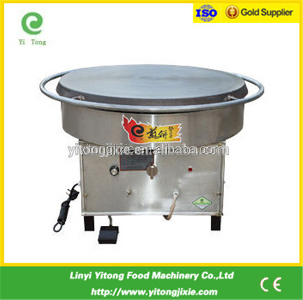 700mm gas rotating commercial machine a crepe gas
