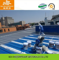 Metal roof acrylic polymer stop leaking coating with heat insulation