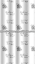 2012 New Design PVC Shower Curtain