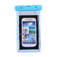 2017 Promotional Item Hot new products waterproof cellphone bag, mobile phone PVC waterproof dry bag for swimming