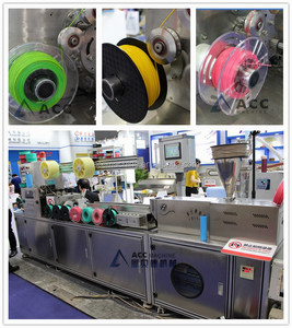 ABS/PLA 3d Printing mono Filament Extrusion production line