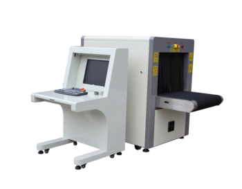 checked baggage security x ray screening machine