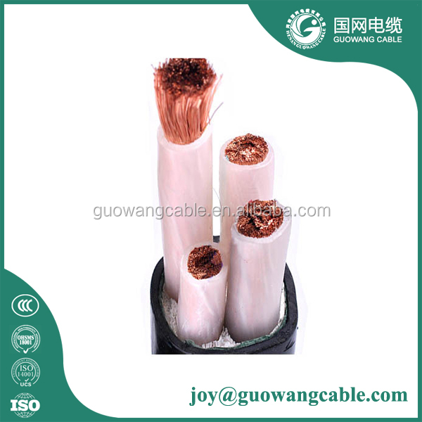 0.6/1kv Armoured Ywy Yfy Cable 35mm2 Copper Electrical Cable