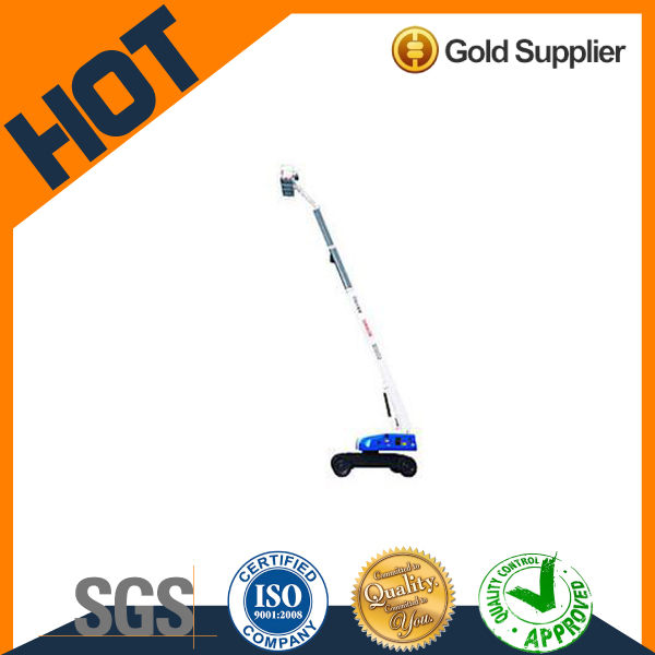 adjustable XCMG 450kg 19m portable high rise folding Aerial Working Platform for construction