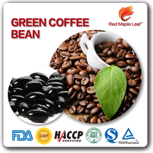Pure Chlorogenic Acid Essence Green Coffee Bean Extract Soft Gels