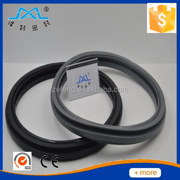 GASKET,DOOR 75H-85 LITER WASHER-BLACK 432184002