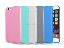 2015 hot selling transparent Clear TPU ultra thin case for Apple iPhone 6S factory in china Red Blue Black Gray Green Clear