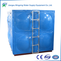 Wholesale low price high quality thermal insulation latest galvanized water pressure tank for sale