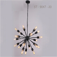 ST-9047-20 sunbelt 20 light head Satellite shaped pendant lamp.