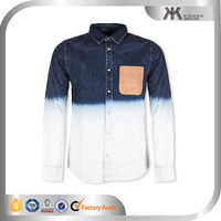 Latest Custom Rocky Men's Denim Shirts Design