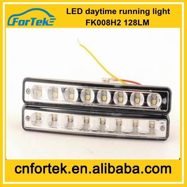China Electronic Auto Spare Parts Daytime Running Light E-MARK Led DRL for Santana FK-008H2