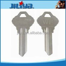 High Quality custom logo WF key blank door key blank house key blank for