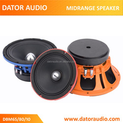 OEM and ODM 6.5 inches,8 inches and 10 inches high power and efficient car pro audio midrange speaker and midbass speaker