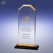 Cheap Gold Cornerstone Reflection Acrylic Plastic Award Trophy