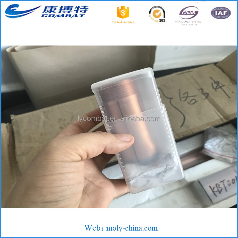 W80Cu20 Tungsten Copper Alloy Tulip and Pins for Electron Beam Welding