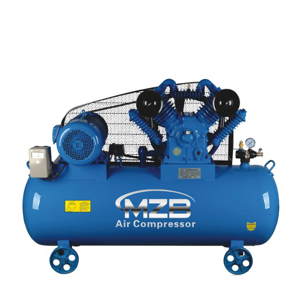 10HP 12.5Bar Industrial 2 Stage Belt Driven Air Compressor