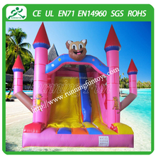 New Christmas Theme jumbo water slide inflatable, children inflatable pool with slide