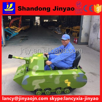 hot sale kids tank car <strong>game</strong> on grass, new double seats tank run on snow, JinYao kids tank car play on sand for sale