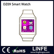 OEM Manufacturing Mobile Watch Phones MTK6261 Best Price DZ09 Smart Watch