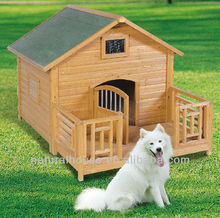 Item No. DH-1413 Wood wooden dog house with run