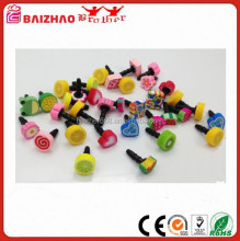 mobile phone accessories PVC/Silicone /Vinyl anti dust plug