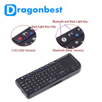 2016 New arriving K100BT Air Mouse Rechargeable 2.4G Wireless Air Fly Mouse and Keyboard Combo for Android tv box