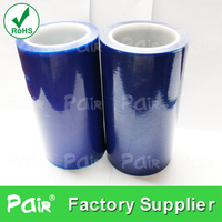 Blue low adhesive PE film Roll
