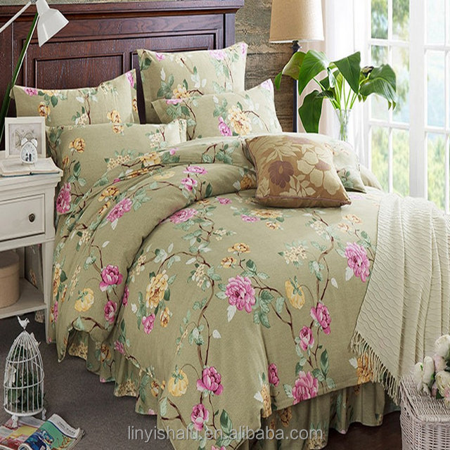 Elegant style simple design fabric for making bed sheets