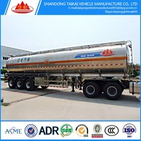 3 axles 50000liters oil tanker semi-trailer/chemicing liquid tank trailer/fuel tanker semi-trailer truck