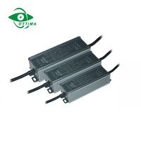 waterproof electronic led driver dc 12v input to dc 36v 50W 1.5A constant current power