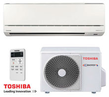 TOSHIBA RAS-107SKV-E5 Air Conditioner Inverter with A/A energy class of cooling and heating