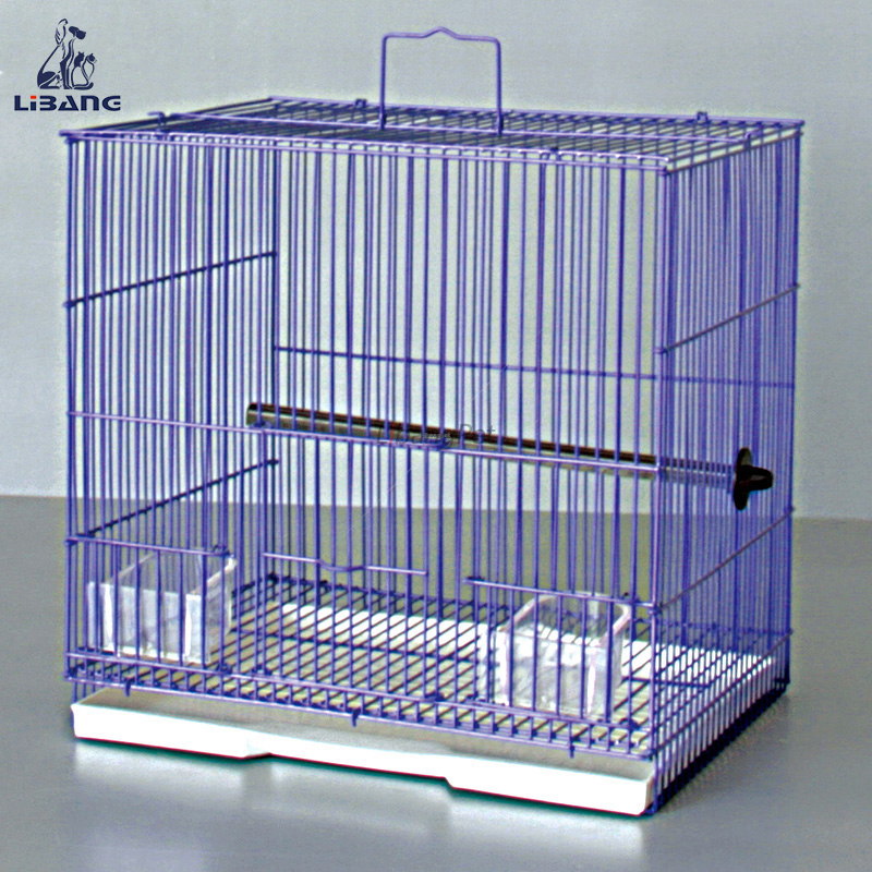 Supeior Quality Powder Coated Metal Parrot Finch Poultry Cage