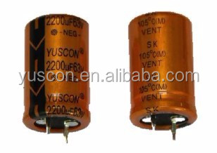 Large Can Capacitor 250V Aluminum Electrolytic Capacitor for Power Supply Screw Terminal 330UF