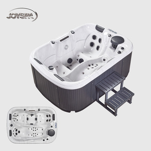 Clear hot selling swimming pool acrylic hot tub