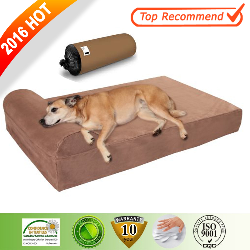 Luxury Various Stock Durable Fabric Memory Foam Dog Bed Soft Dog Bed Pet Products