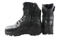 Military infantry tactical army police outdoor combat boots CL29-0026BK