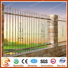 Guangzhou factory Antique used wrought iron fence