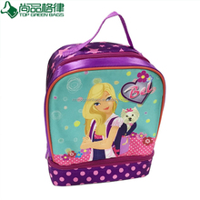 Insulated picnic kids school cooler bag polyester lunch thermal bags