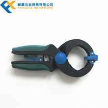 Sale High Quality Double Color Hand Anti Slippery Ratchet Clamp Quick Release Ratchet Bar Lever Clamp Plastic Ratchet Clamp