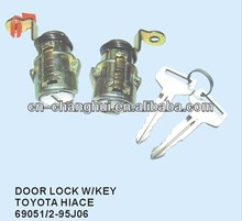 Door lock with key FOR TOYOTA HIACE