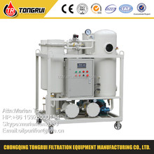 ZJC Vacuum Hydraulic Turbine Oil Filtration/ Used Oil Recycling/Oil Purifier machine for filtrate impurities and Dehydration