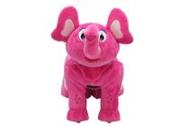 Soft Custom/Motorie Rides Elephant Stuffed Animals / Plush 12 v Electric Ride on Toys