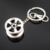 Car wheel parts keyring keychain, Turbo wheel felgen protect Keyring, auto tyre steering wheel rim hub boss shaped key chain