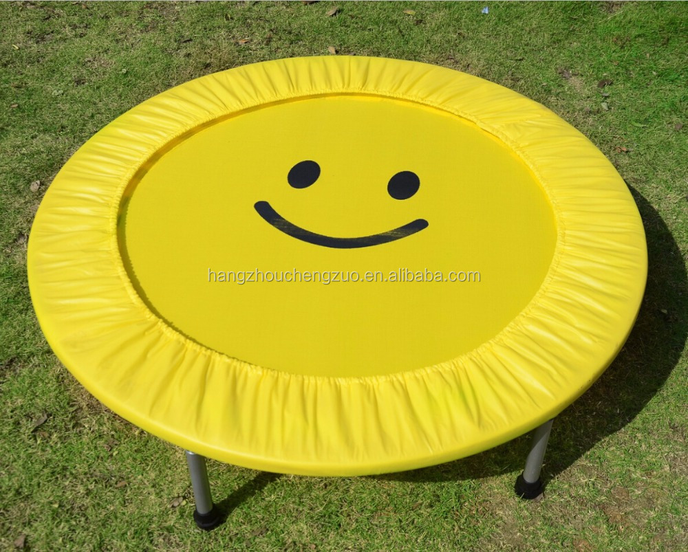 Hot Selling Foldable 32 Inch Kids Trampoline,Kids Spring Jumping Bed,CZA-002B Indoor Baby Bounce Bed Fitness Equipment