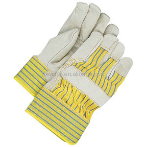 NEWSAIL Cowhide Patched palm Rigger leather working gloves