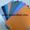 BWF approved rubber badminton sports floor mat indoor sports floor