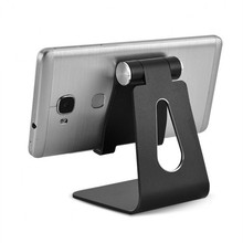 Metal Alloy Foldable Cell Phone Stand Holder Charging Dock Station for iPhone iPad